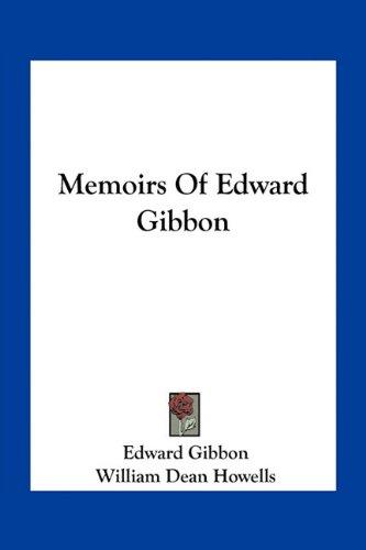 Memoirs of Edward Gibbon