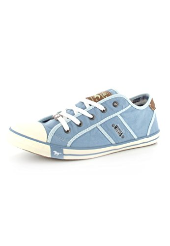 Mustang 1099302, Baskets Basses Femme Bleu pastel (832)