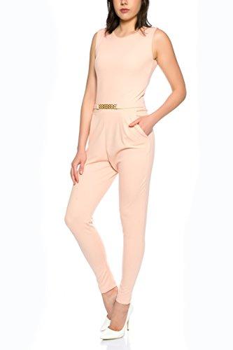 Eleganter Jumpsuit Overall von Crazy Age S-XL Rosa
