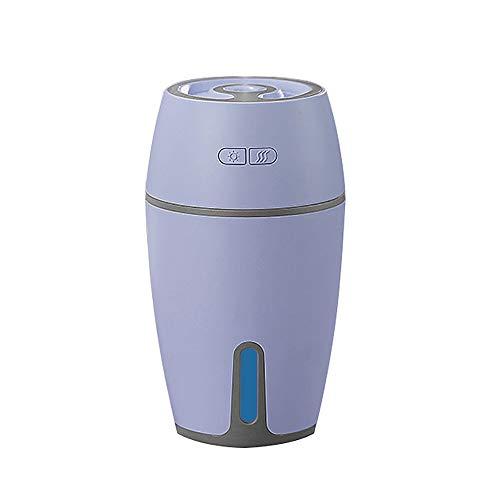 Hawkimin Mini Humidificador, luz Nocturna LED humidificador de Aire vaporizador para SPA, Yoga, Dormitorio, habitación de los niños, salón