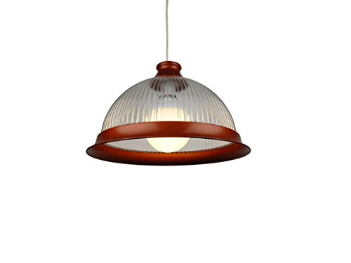 COP PMDL1 33 cm, Copper Acryl Klassische American Diner, Deckenleuchte