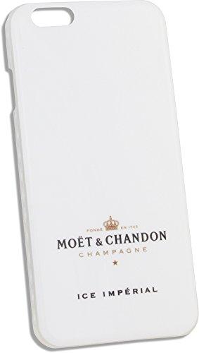 Moët & Chandon Ice Impérial iPhone 6 Case Hülle (weiß/Transparent) Schutz Handy Schale Champagner Party Accessoire