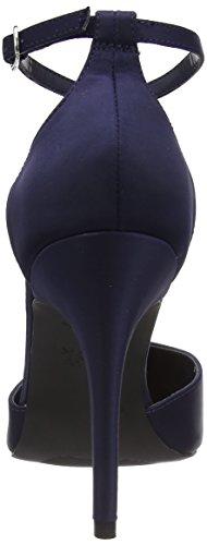 New Look Stolen, Sandali con tacco da donna Blu (Marineblau)