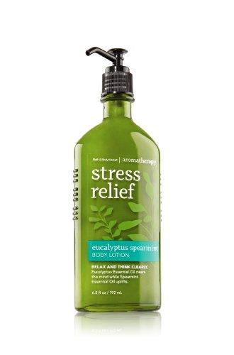 Bath-Body-Works-Aromatherapy-STRESS-RELIEF-Body-Lotion-Eucalyptus-Spearmint-192-mL
