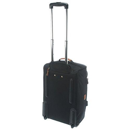 Bric's X- Travel borsone di viaggio a ruote 55 cm schwarz/braun dove grey