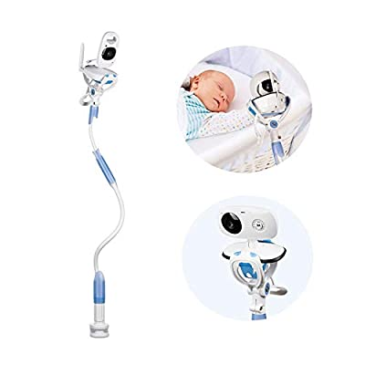 Universal Baby Monitor Holder with Straps,Flexible Baby Camera Mount Shelf,No Drilling,A Safer Monitor Stand for Your Baby,Compatible with Most Baby Monitors  ZAY