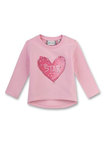 Sanetta Baby-Mädchen Sweatshirt 114048, Rosa (Rosé 3002), 74 (Baby Mädchen Sweatshirts)