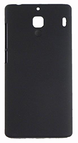 FCS Premium Rubberised Hard Back Case Cover For Xiaomi Redmi 1S In Matte Finish (Black)