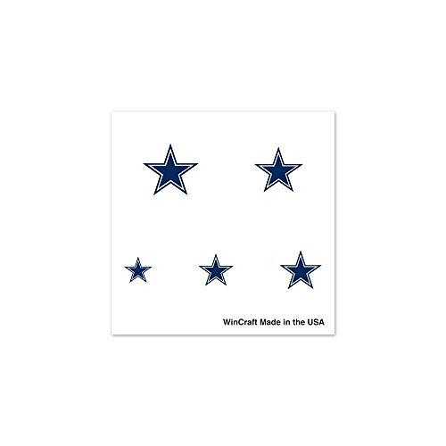 Wincraft NFL Dallas Cowboys 75853091Fingernagel Tattoos (Cowboys Tattoos Dallas)