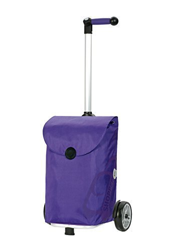 Shopping trolley Unus PEPE, volume 49L, 3 years guarantee, Made in Germany by Andersen Shopper Manufaktur