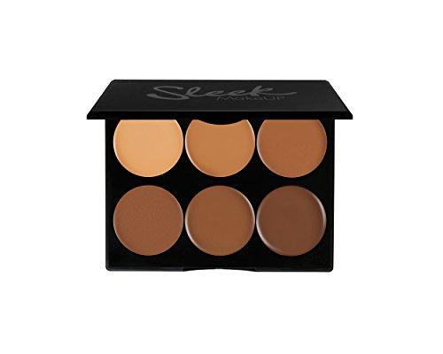 Sleek MakeUp 96130551 Cream Contour Kit Dark (Highlight Make Up Sticks)
