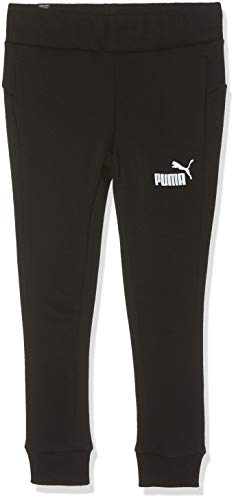 PUMA Mädchen ESS Sweat Pants TR G Jogginghose, Black, 104