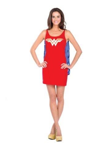 Rubies USA Wonder Woman Tank Kleid für Damen, Größe:M
