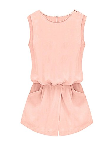allegra-k-women-round-neck-sleeveless-cut-out-back-casual-romper-m-pale-pink