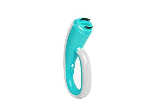 MNII Garment Steamer, Fast Heat-up Handheld Portable Stoff Dampfer für Kleidung mit Pinsel Griff, 100ml Kapazität perfekt für Haus und Reisen