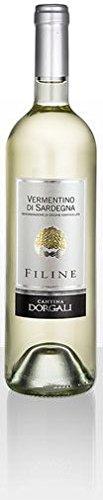 Vino bianco Vermentino di Sardegna DOC 2016 (3 bottiglie)