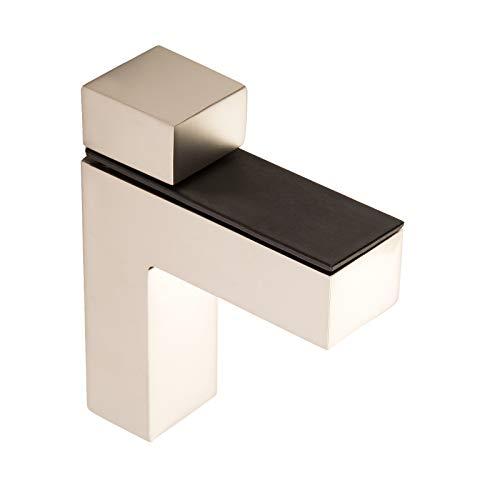 4 piezas x SO-TECH® Soporte para Estantería HULK Acabado Acero Inox mate...