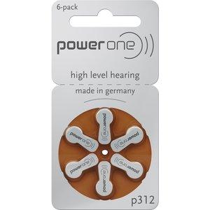 Varta Powerone Typ 312 Hörgerätebatterie Zinc Air P312 PR41 ZL3, 120 Stück