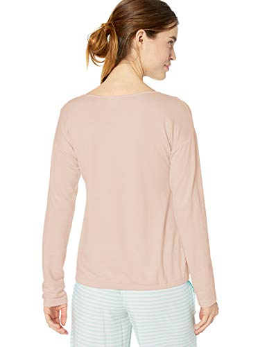 Amazon Essentials Women's Standard Lounge Terry Long-Sleeve Top