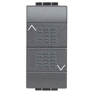 Bticino Livinglight L4037 - Ll-Puls Doble Bloq 10A 1M Antr