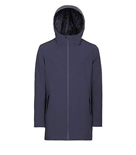295bc83de05b16 MUSEUM CLOTHING Giacca Outerwear Uomo Cauja13nt173c040 Fibre Sintetiche Blu