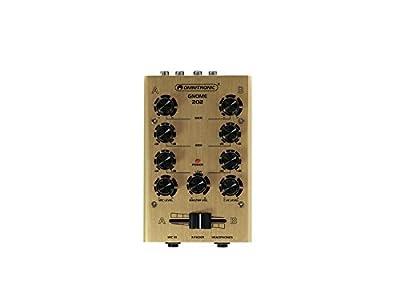 Omnitronic Gnome 202 Mini Mixer Gold