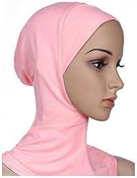 5Five Copricapo integrale islamico per donna Coprispalle a turbante con  copricapo Cappellino per cuffia Hijab e76f6b8fee48