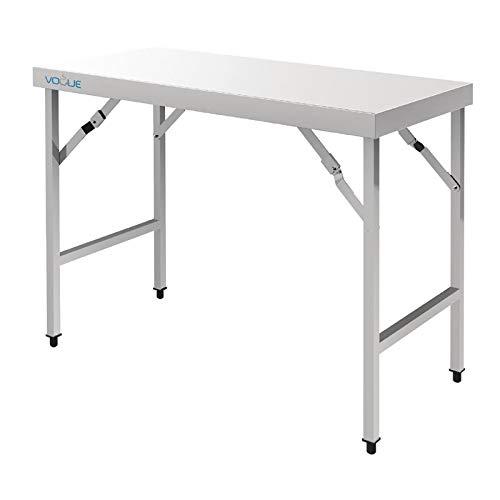 Table Inox Pliante – Vogue