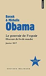 Le Pouvoir de l'espoir - Discours de fin de mandat Janvier 2017 de Barack Obama