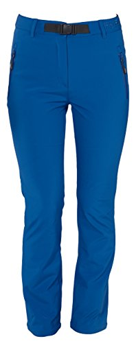 Fifty Five Damen Softshellhose Trekkinghose Outdoorhose Orac Blau 42