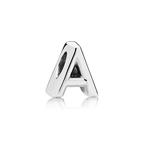 Pandora Moments Buchstabe A Alphabet-Charm Sterling Silber 797455