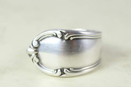 Rokoko Besteckschmuck Ring, ca. 60 (19) Ring aus Besteck
