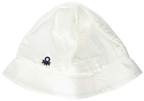 United Colors of Benetton Bebé-Niños Hat Gorra Bebe Not Applicable, Blanco (Bianco...