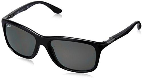 Ray-Ban Aviator Sunglasses (Black) (0RB8307002/N558)