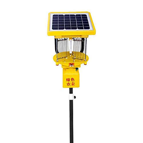 Solar Insektizid Lampe Frequenz Vibration Vernichtung Outdoor Farm Obstgarten Zucht Solar Insektenfalle Licht Led Uv-Licht, BOSS LV Boss 6x9