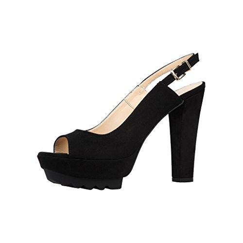 sandali scarpe V 1969 YASMINE_BLACK Nero Noir