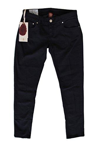 Dondup Pantalone Donna Lambda Blu 5 Tasche (29, blu)