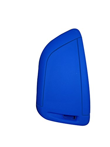 Silikon Schlüssel Hülle für Smart For für BMW 1 2 5 series 218i X1 F48 X5 X6 F15 X3 X4 blau