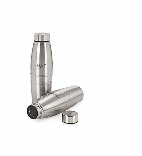 Sizzle Fridge Water Bottle 600 ml 2 Pc Set SFB-502