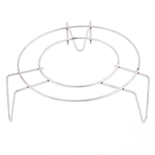 sourcingmap Küche Rostfreier Stahl 3 Beine Herd Essen Dampf Regale 12 x 5cm