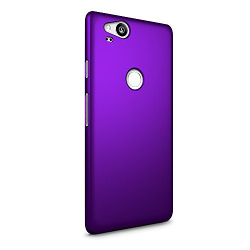 SLEO Case for Google Pixel 2 Case Ultra Thin Rubberized Hard PC Back Case Cover for Google Pixel 2 - Purple