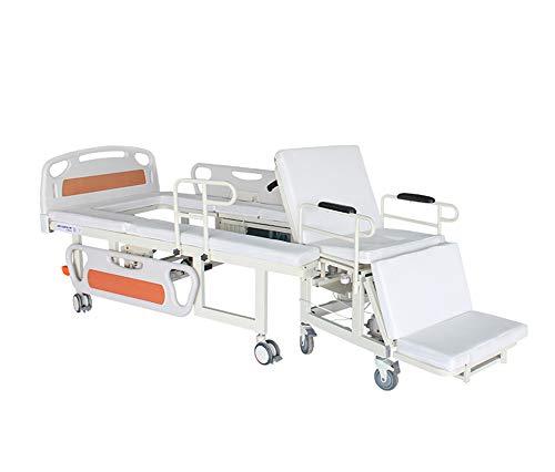 Multifunktionales, Elektrisches Smart-Home-Care-Bett, Manuell Verstellbarer Medizinischer Patient Mit Krankenhausbett