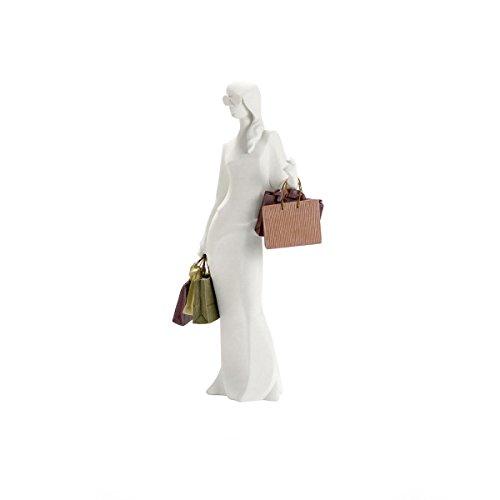 Goebel NADAL Polyresin-Figur mit Taschen Rosé Tempus Tiffany 20000287