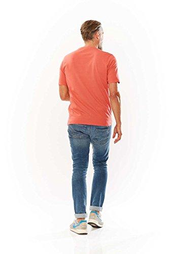 Kitaro Shirt Herrenshirt Shirt T-Shirt 172131 2224 algiers blue hellblau S17-KTS2 Orange