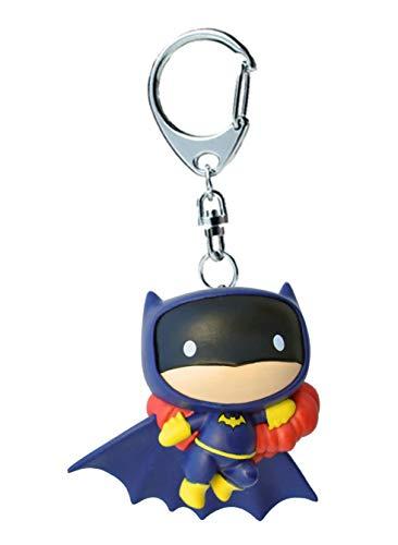 Plastoy DC Comics Batgirl Schlüsselanhänger Chibi, 60706, Mehrfarbig