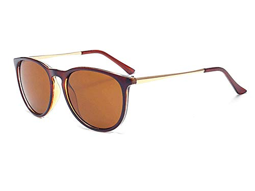 WERERT Sportbrille Sonnenbrillen Sunglasses Women Men Retro Classical Sun Glasses Oval Ladies Girls Femme Uv400