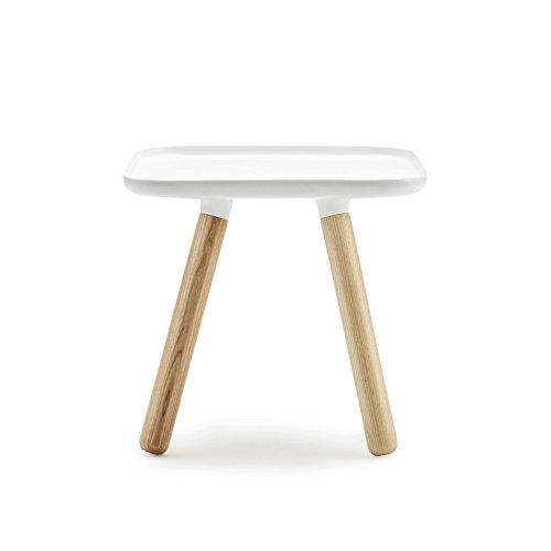 TABLO - table basse carrée blanche