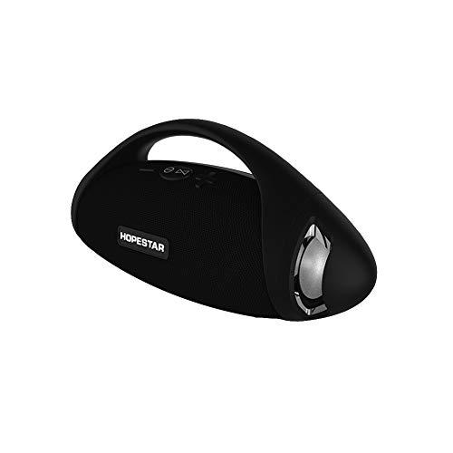 jEZmiSy, Musik Lautsprecher, Zuhause Accessary, Klingen, Mobile Audio, Wasserdicht Kabellos -Blauzahn Rugby-Form Draussen Stereo Bass Box- schwarz -