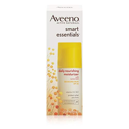 Aveeno Active Naturals Smart Essentials Daily Nourishing Moisturizer SPF 30 2.5 fl oz (75 ml) (Sonnenschutzmittel) (Aveeno Moisturizer Spf)