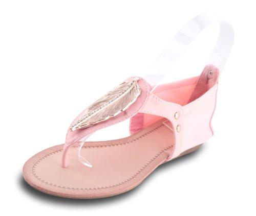 Mixmatch24 , sandales femme Rose - Rose